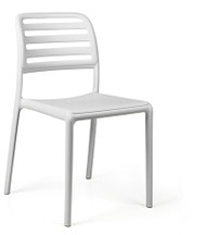 Nardi Costa Bistrot (without arms) Deck Chair – White