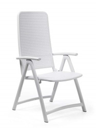Nardi DARSENA Reclining Chair - White