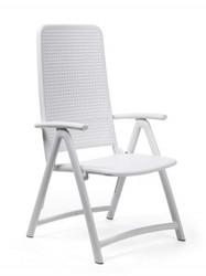 Nardi DARSENA Reclining Chair - White
