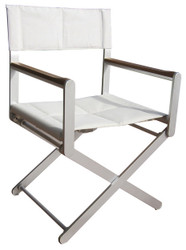OSKAR Deck Chair by Valdenassi - silver