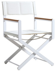 OSKAR Deck Chair by Valdenassi - white