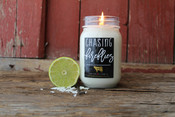 Lime & sugar cane blended with sweet vanilla and coconut.