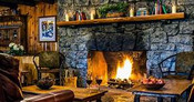 Warm hearth fires and fresh baked goodies from the oven. Sweet, spicy, fruity, and delicious.
