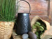 Our Punched Tin Wax Warmer is a perfect compliment to any space. The removable wax tray makes clean up and scent replacement a snap!  Pair it with one of your favorite Milkhouse fragrance melts for the perfect gift. (Melters include one 40 watt candelabra bulb)