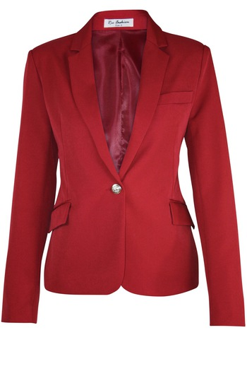 Ladies Red Blazer