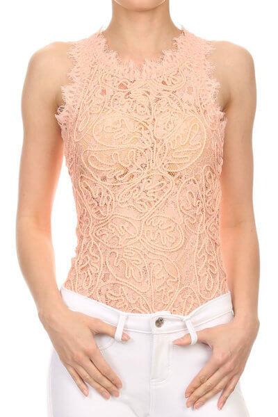 Chic Lace Bodysuit