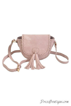 Blush Cross Body Satchel