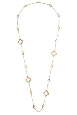 Oval Charm Necklace