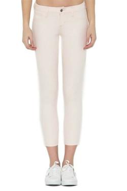 Cropped Slim Fit Blush Jeans
