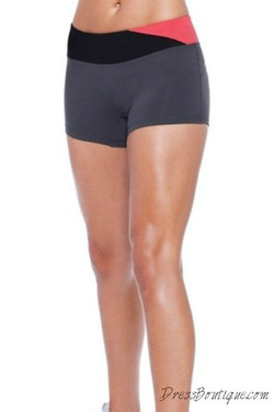 Coral Trim Workout Shorts