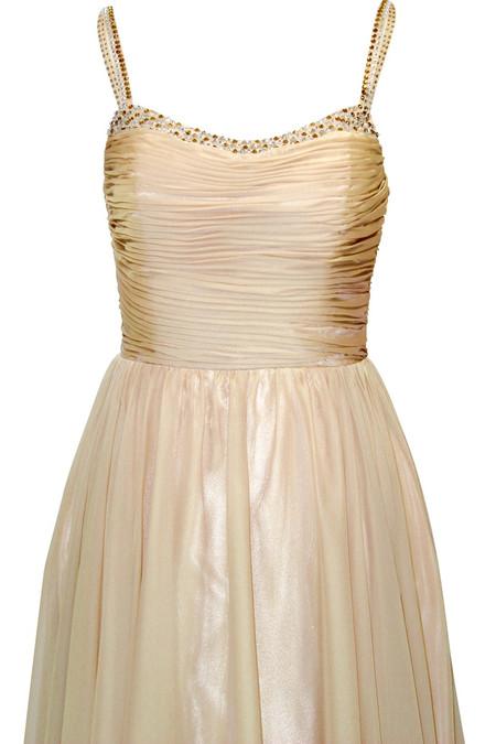 Stunning Gold Evening Dress
