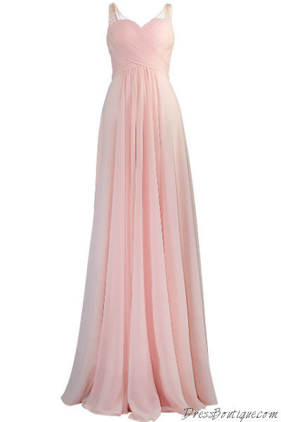 Blush Evening Dress