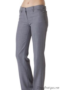 Women's Light Grey Slacks