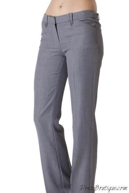 Women's Light Grey Slacks