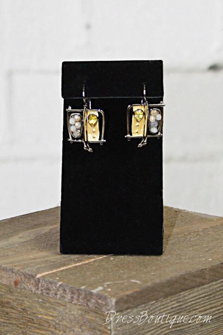 Handmade Abstract Earrings