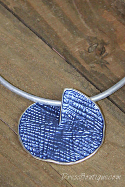 Artsy Blue Pendant