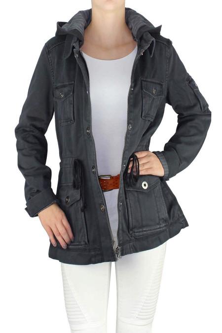 Grey Combo Jacket
