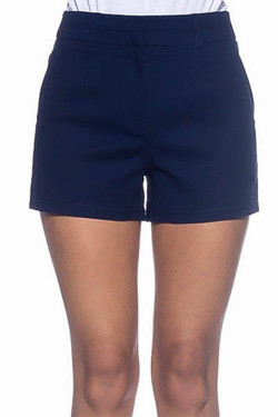 Women's Navy Shorts