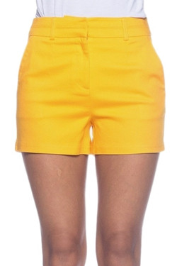 Women's Yellow Shorts