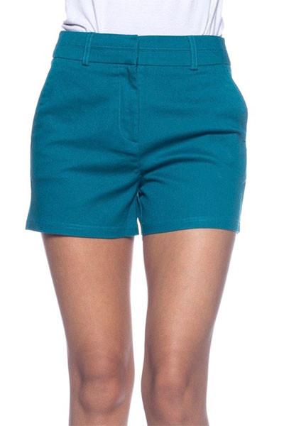 Women's Teal Shorts