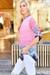 Pink Cara Print Blouse