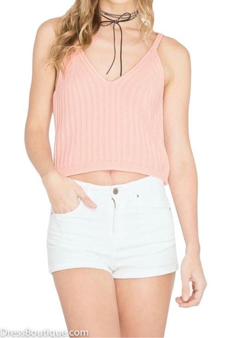 Blush Crop Top