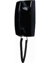 Cortelco 2554 Mini ND WM Direct Dial Telephone - Black