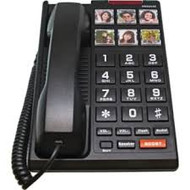 Scitec H3000 Big Button Elder Care Phone - Black (H3000-B)
