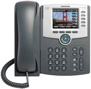 Cisco SPA525G2 5-Line Bluetooth / Wifi IP Desk Phone - OPEN BOX (SPA525G2-OB)