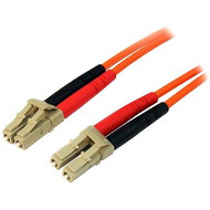 Startech LC-LC Fiber Cable 1m - Orange (50FIBLCLC1)