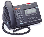 Nortel M3903 Digital Telephone - Black/Charcoal - Refurbished (NTMN33GA)