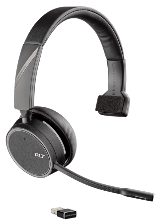 Plantronics Voyager 4200 Mono UC Wireless Headset USB-C (211317-02)