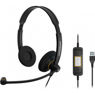 Sennheiser SC 60 ML Duo Wired USB Headset (504547)