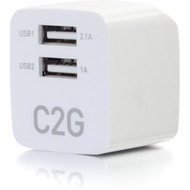 Cables 2 Go 2-Port USB - AC Wall Charger (22322)