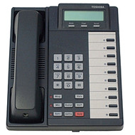Toshiba DKT-2010SD Desk Phone - Charcoal - Refurbished (DKT-2010SD)