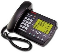 Nortel / Aastra Vista 392 Analog Desk Phone - Black - Refurbished (A1258-5112-10-05-B)