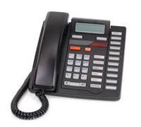 Nortel / Aastra M9216 1 Line Analog Desk Phone - Black - Refurbished (NT2N33)
