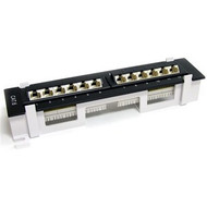 Startech 12 Port CAT6 Patch Panel (C6PANL4512)