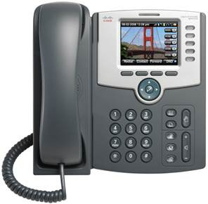 Cisco SPA525G2 5-Line Bluetooth / Wifi IP Desk Phone - Refurbished (SPA525G2-R)
