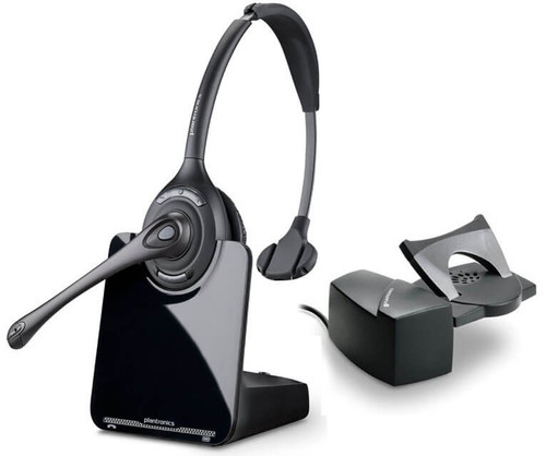 Plantronics CS510 Wireless DECT Headset with HL10 Lifter Bundle (84691-11)