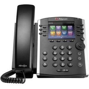 Polycom® VVX 411 IP Phone - Open Box (2200-48450-025-OB)