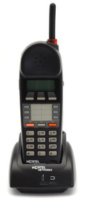 Nortel Norstar T7406 Cordless Handset w/ Charger and Battery (NT8B45AAAB)