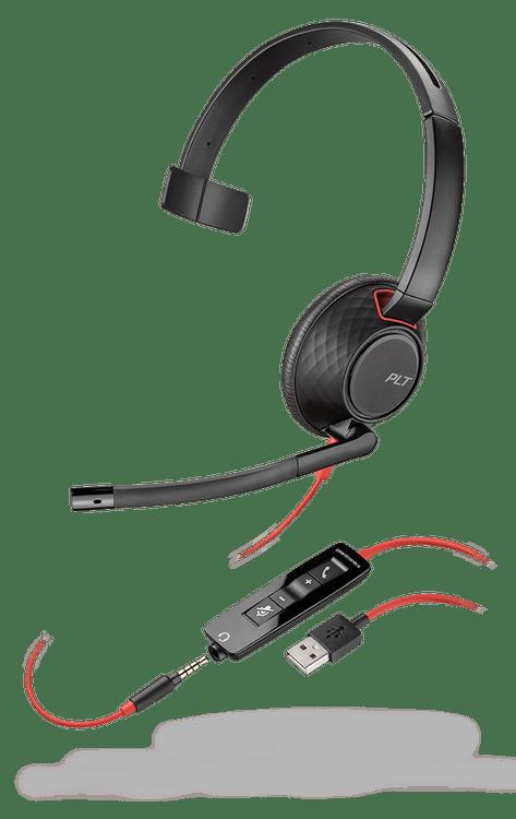 Plantronics Blackwire 5200 Wired USB-A Mono Headset