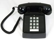 Cortelco 2500-00 Telephone - Black (250000-VBA-20M)