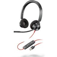 Plantronics Blackwire 3320 Duo USB Headset (213934-01)