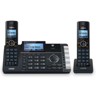 VTECH 2-Line 2 Handset Cordless Phone with Answering System & Smart Call Blocker (DS6251-2)