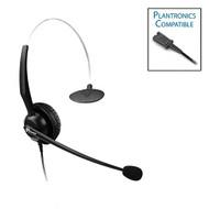 Armor TelPro 1200-P Single-Ear NC Plantronics Compatible Headset