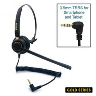 Armor TelPro Gold 3100-M Mono 3.5mm Headset (TPH-3100M-35)