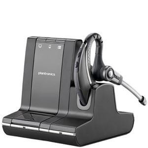 Plantronics Savi W730 Mono Wireless DECT Noise Cancelling Earset (Standard) (83543-11)
