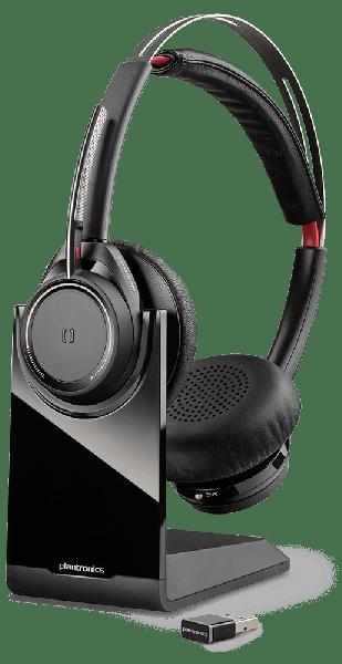 Plantronics Voyager Focus UC Stereo Bluetooth Headset B825-M (202652-02 )